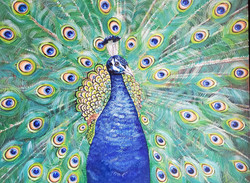 Strutting My Peacock Stuff