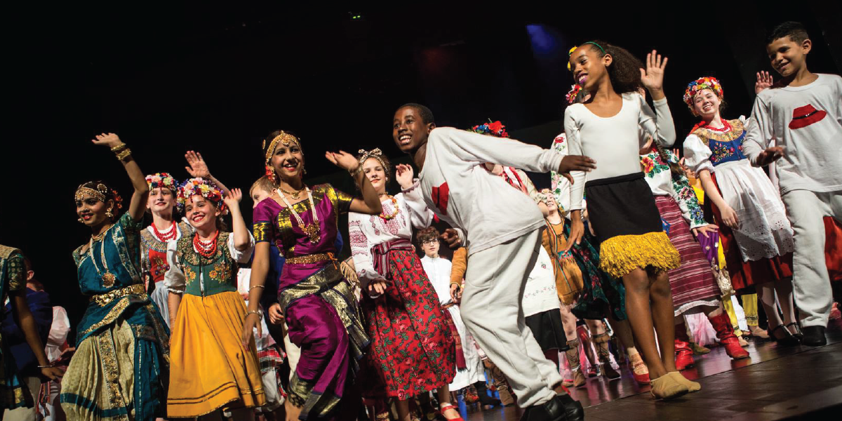 An African-Indian Dance Freeshow