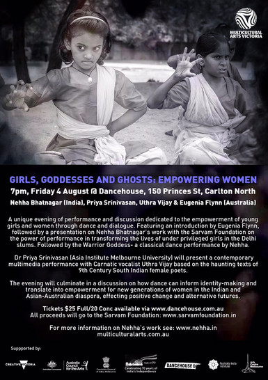 Girls, Godesses and Ghosts: Empowering Women - Melbourne, Australia