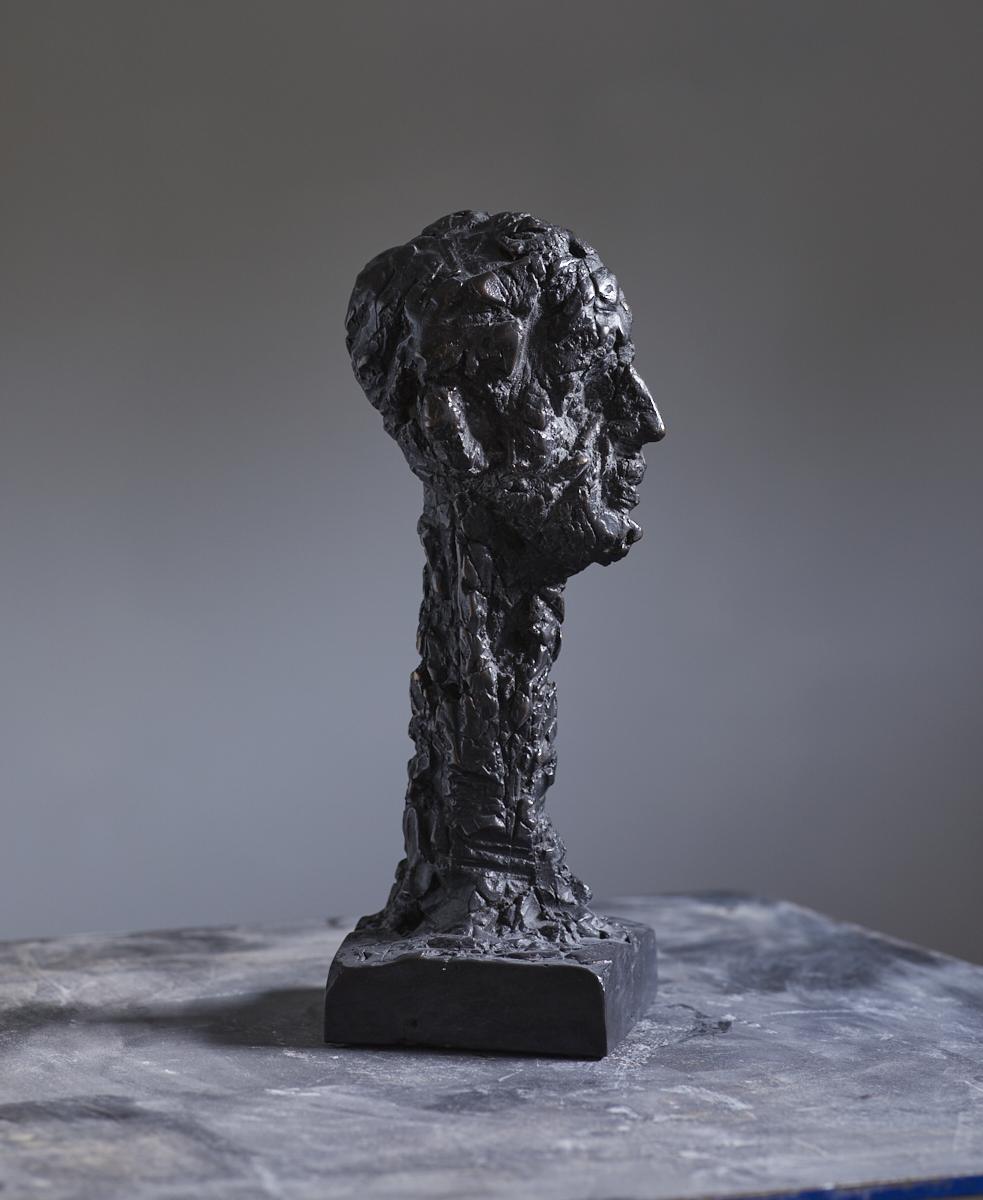 la tête | 2012 | Bronze | 30 x 12 x 10cm