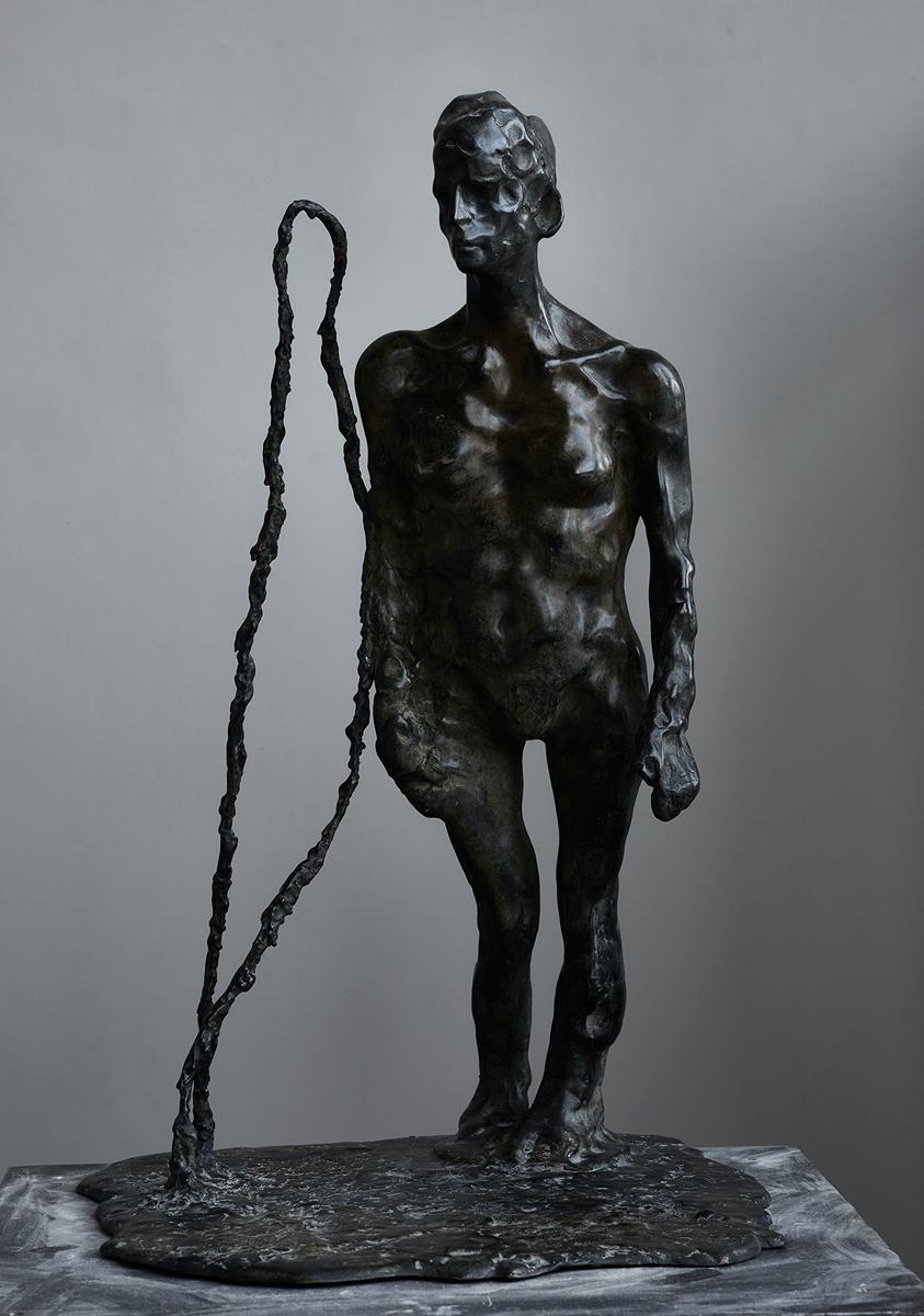 l'amie | 2010 | Bronze Unikat | 66 x 40 x 44cm