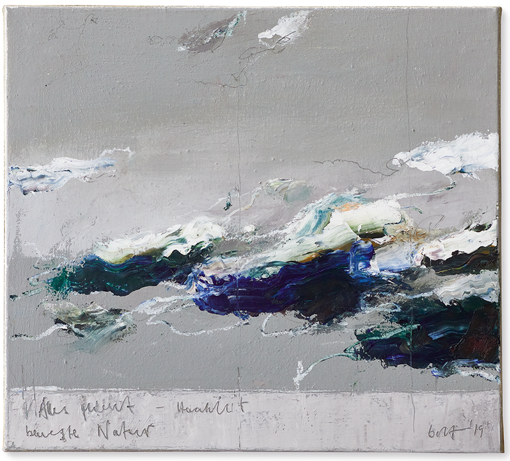 Bewegte Natur | 2019 | Öl auf Leinwand | 45 x 50 cm