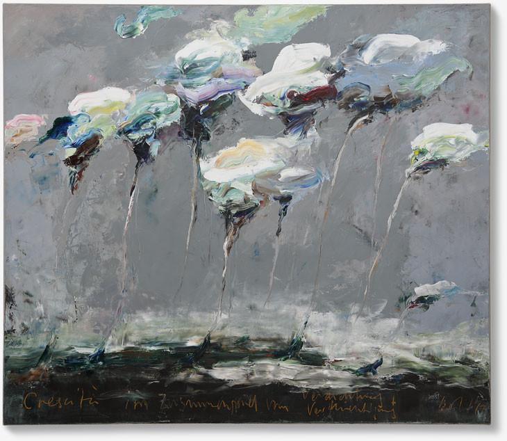 Crescità | 2019 | Öl auf Leinwand | 120 x 140cm