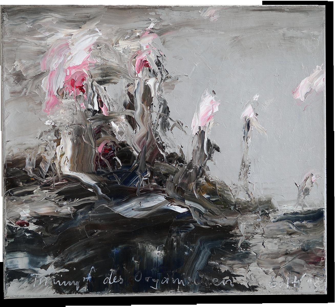 Triumpf des Organischen | 2018 | Öl auf Leinwand | 45 x 50cm
