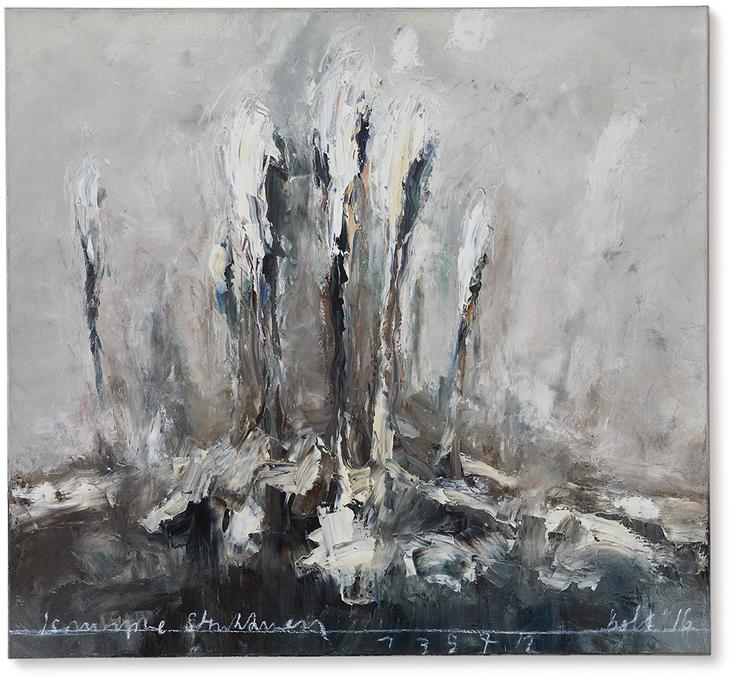 Isomorphe Strukturen | 2016 | Öl auf Leinwand | 120 x 130 cm