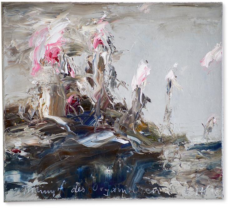 Triumpf des Organischen | 2018 | Öl auf Leinwand | 45 x 50 cm