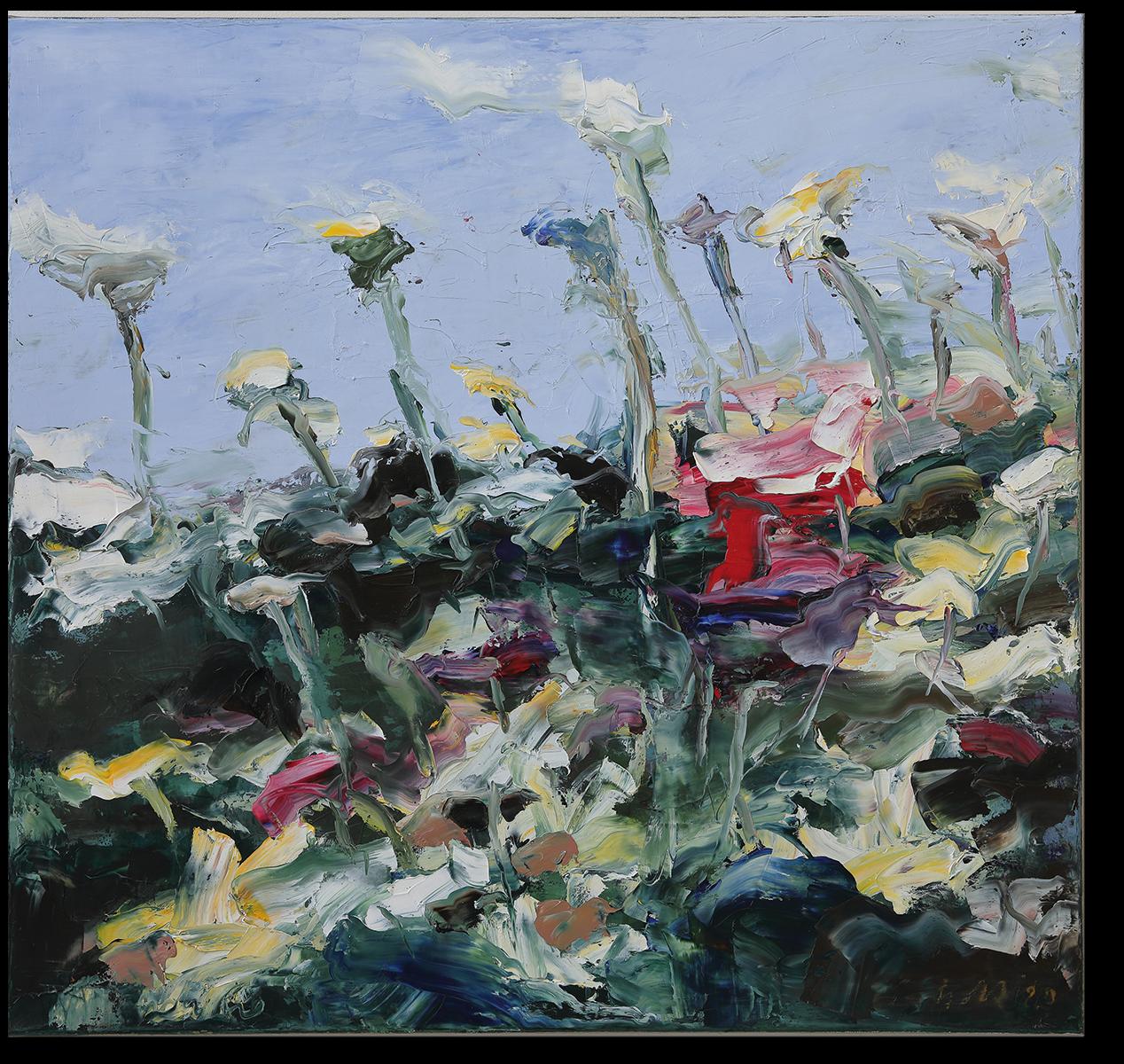Il giardino | 2020 | Öl auf Leinwand | 80 x 85cm