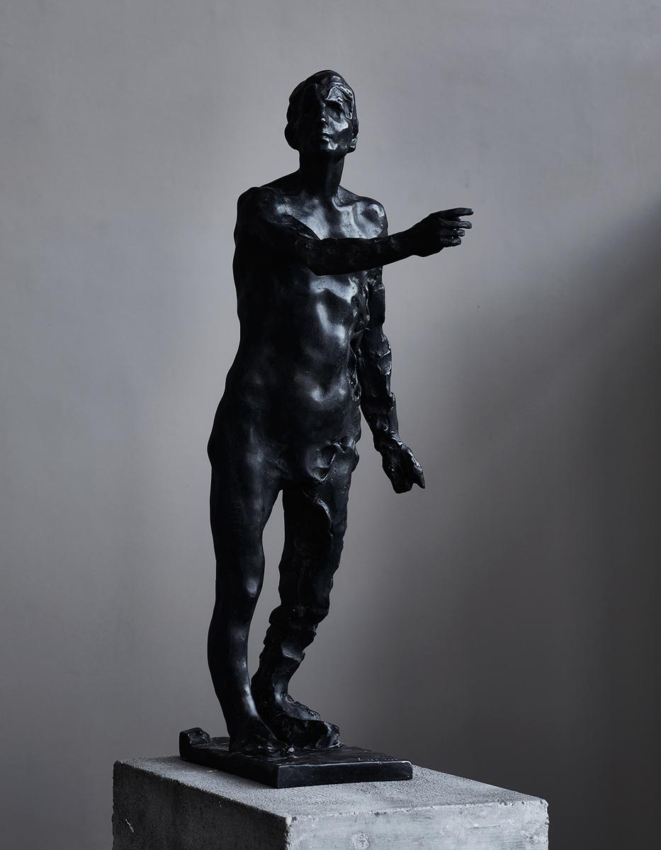 der Verkünder | 2006 | Bronze Unikat | 60 x 16 x 12cm