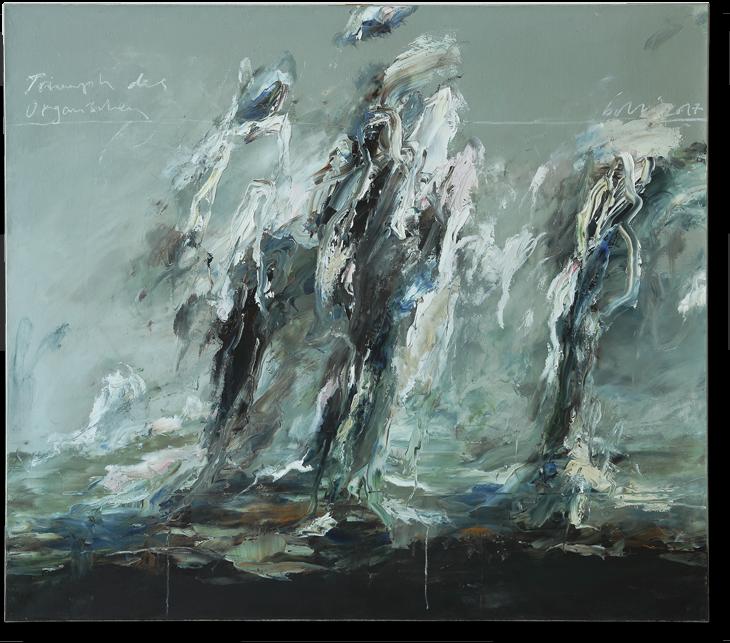 Triumpf des Organischen | 2017 | Öl auf Leinwand | 160 x 180cm