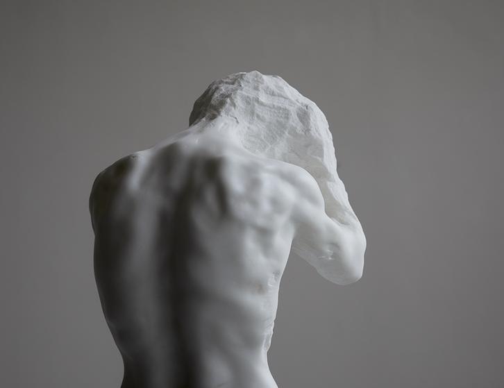 Reflexion   2020   Marmo Statuario   96 x 25 x 28cm
