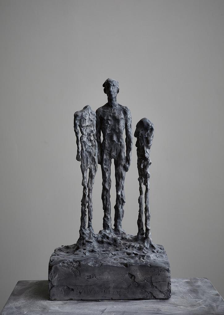 Sviluppo umano   2018   Aluminium   54 x 29 x 29cm