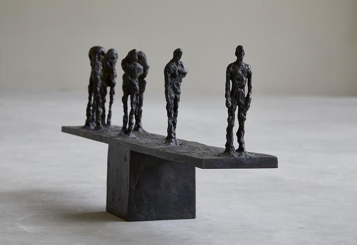 Balance   2018   Bronze   31 x 80 x 12.5cm