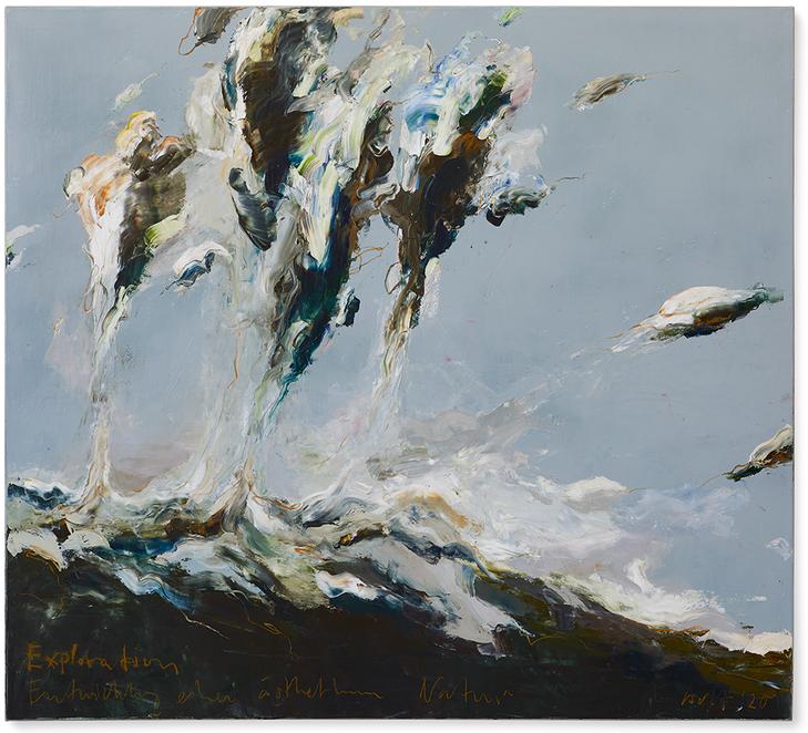 Exploration | 2020 | Öl auf Leinwand | 160 x 180 cm