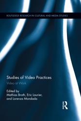 Broth, Laurier & Mondada (Eds.) 2013