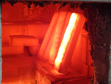 Ceramic Welding in Pilot Furnace