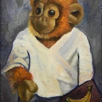 Self Portrait With Banana