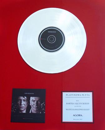 Pierwsza platynowa płyta