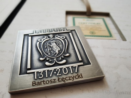 Bartek na medal ;)
