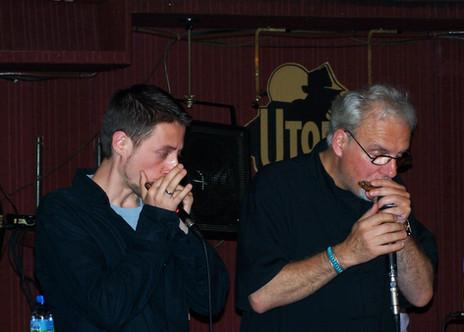 JJ Milteau i Bartek (Paryż 2007)