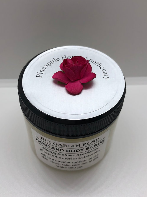 Organic Sugar Body Scrub
