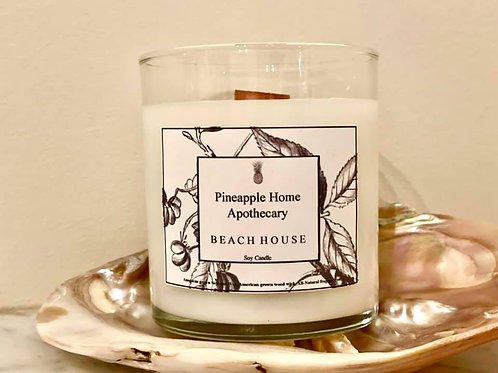 Beach House Soy Wood Wick Candle
