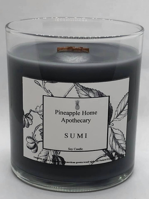Sumi Wood Wick Soy Candle