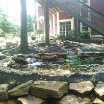 Pond showing Falls