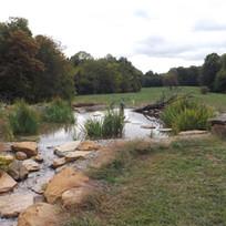 Stream to pond