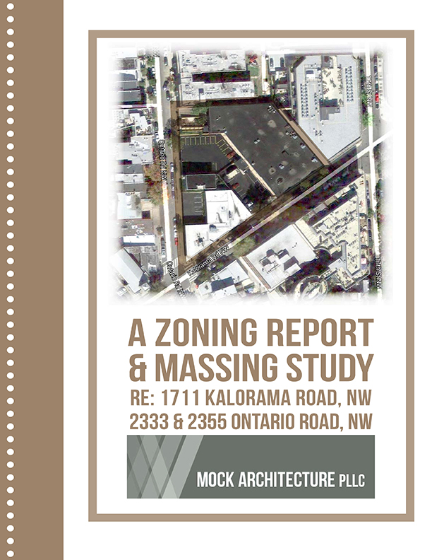 Zoning Report + Massing Study