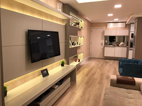 Apartamento 03 dorms - 1 suíte - ref.: NS459