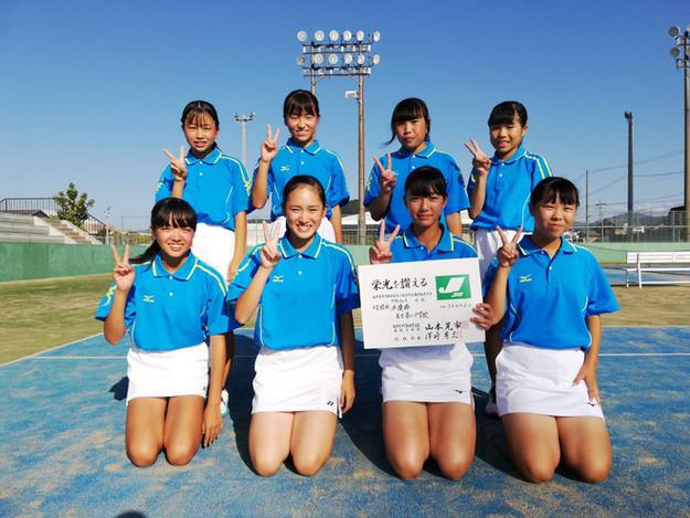 女子2位/武生第二中学校