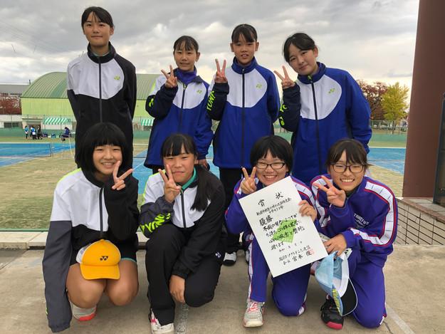 2部女子優勝/武生第二中学校B