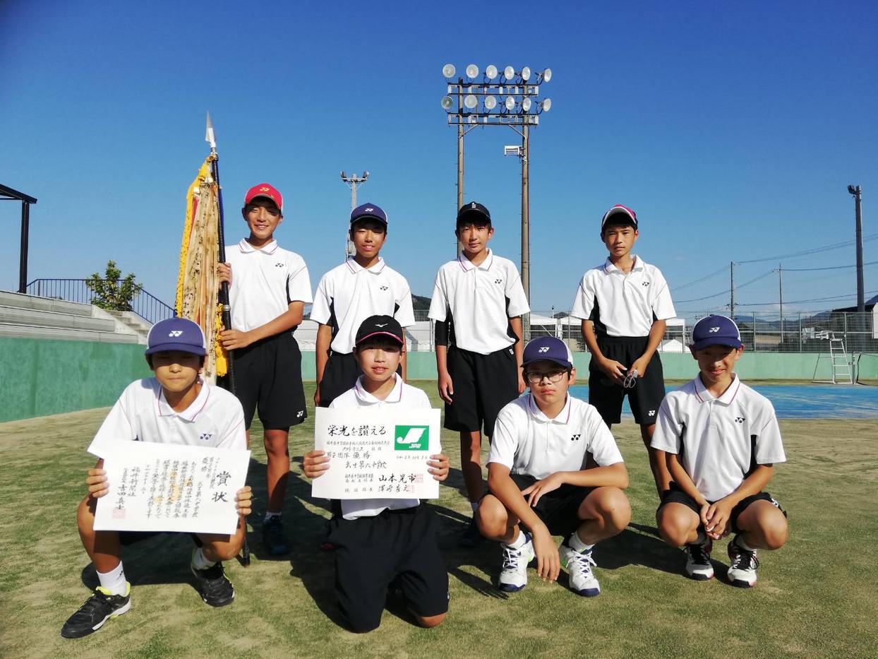男子優勝/武生第六中学校