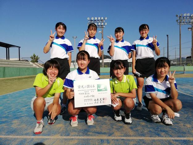 女子3位/武生第三中学校