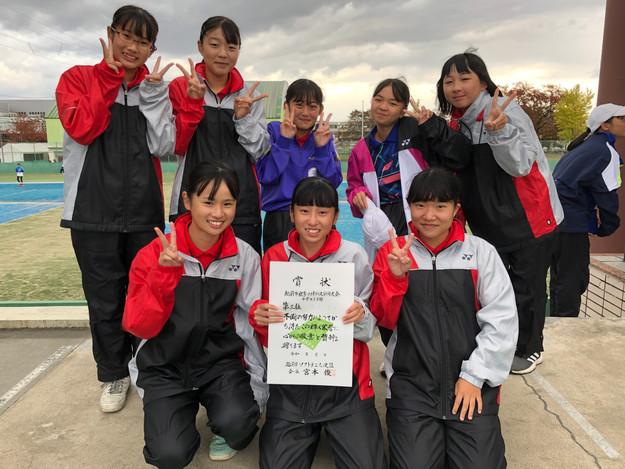 2部女子3位/武生第一中学校B