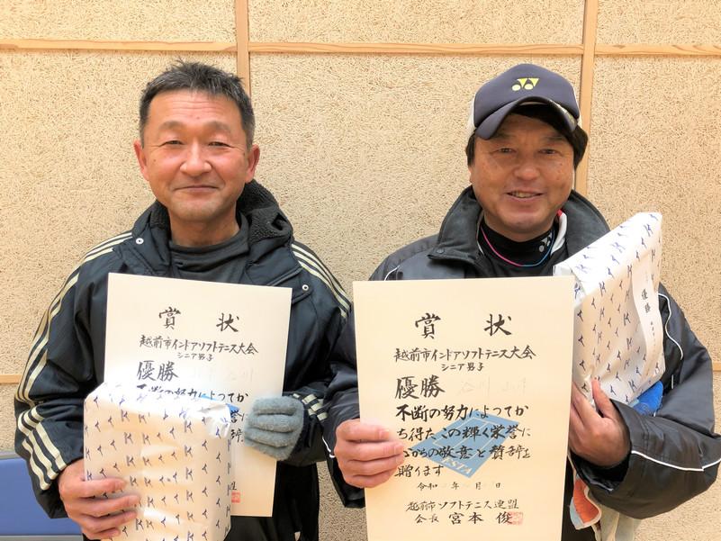 シニア優勝/山本・谷川(アドバンテージ福井)