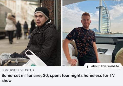 Rich Kids Go Homeless - Dan Legg