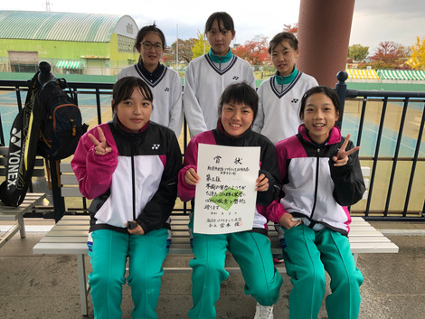 1部女子3位/池田中学校