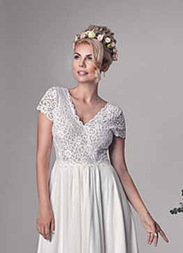 שמלות כלה נוחות בפתח תקווה - אנאבל בולוטוב