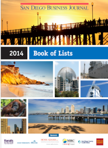 2014 San Diego Book of Lists