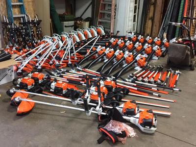 New Equipment!