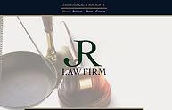 Rogue Original website design for law firm in Florham Park, NJ