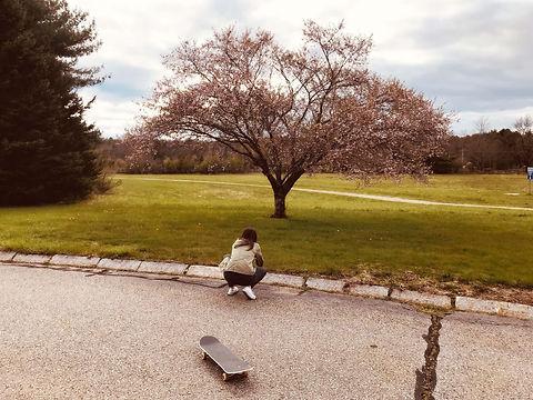 Jen Galvin photography skateboard