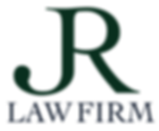 JR Law Firm Logo Green and blue.png
