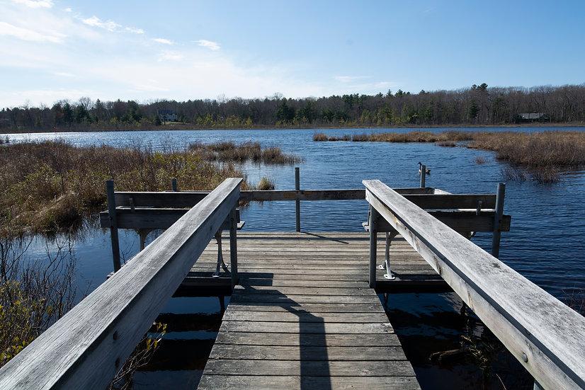 her dock