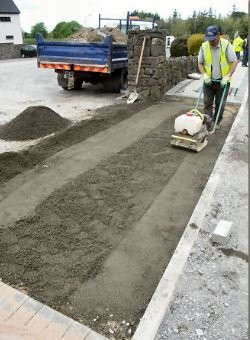 If soil is not properly compacted, overtime, the soil will move or shift, causing the concrete to sink, create voids or create cracks in concrete.