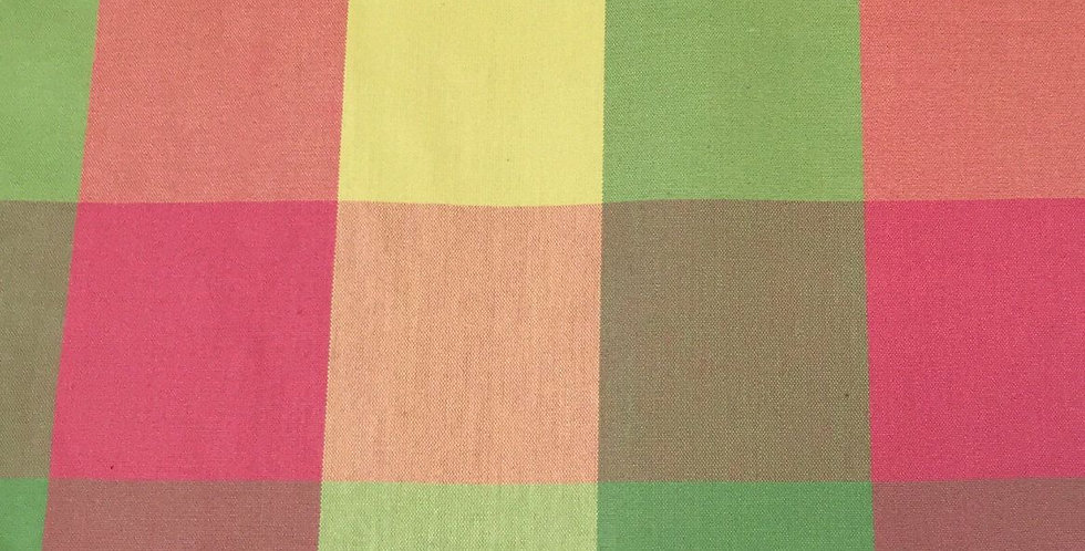 Buffalo Check - Green, Yellow, and Pink