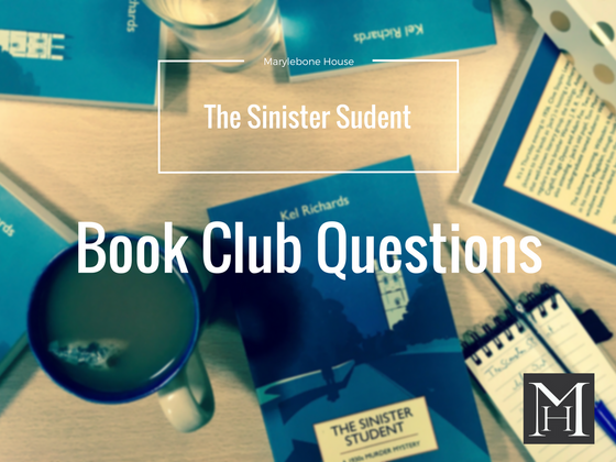 The Sinister Student - Book Club Questions