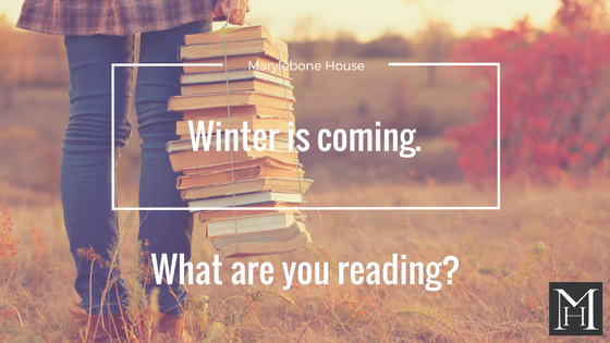 Winter is coming! What are you reading?