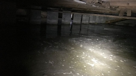 Crawl Space Leaking - Crawl Space Waterp